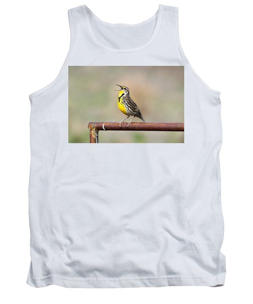 A Morning Song Tank Top by Michael Morse