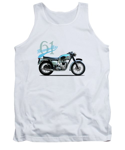 Triumph Bonneville Tank Top by Mark Rogan