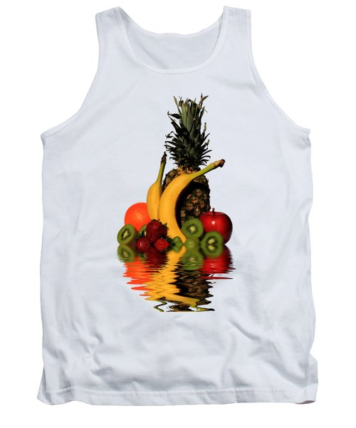 Fruity Reflections - Light Tank Top by Shane Bechler