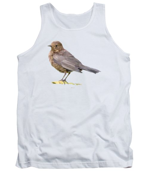 Young Blackbird  Tank Top by Bamalam  Photography