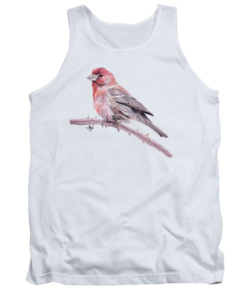 House Finch Tank Top by Angeles M Pomata