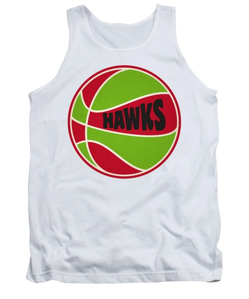 Atlanta Hawks Retro Shirt Tank Top by Joe Hamilton