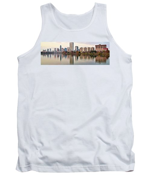 Austin Wide Shot Tank Top by Frozen in Time Fine Art Photography