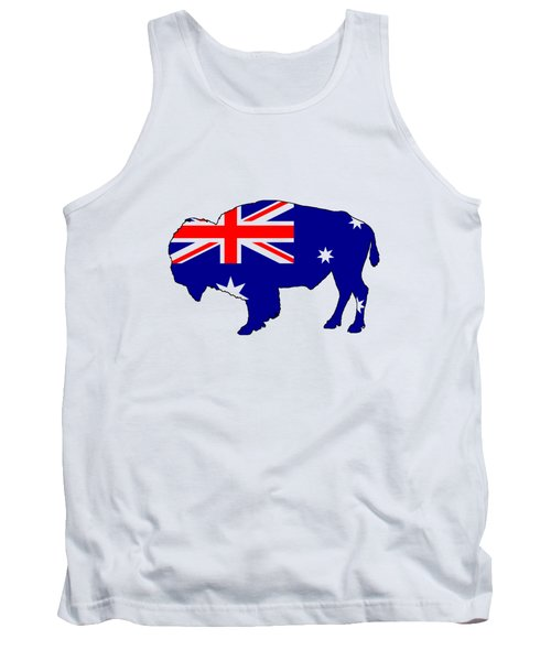 Australian Flag - Bison Tank Top by Mordax Furittus