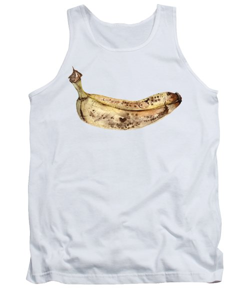 Banana Fruit Illustration Tank Top by Anna Koliadych