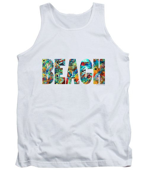 Beach Art - Beachy Keen - By Sharon Cummings Tank Top by Sharon Cummings