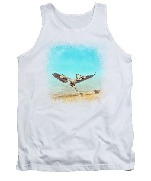 Beach Dancing Tank Top by Jai Johnson