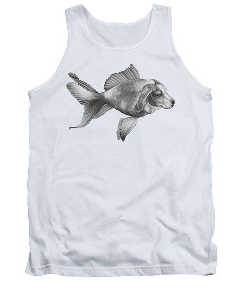 Beaglefish Tank Top by Courtney Kenny Porto