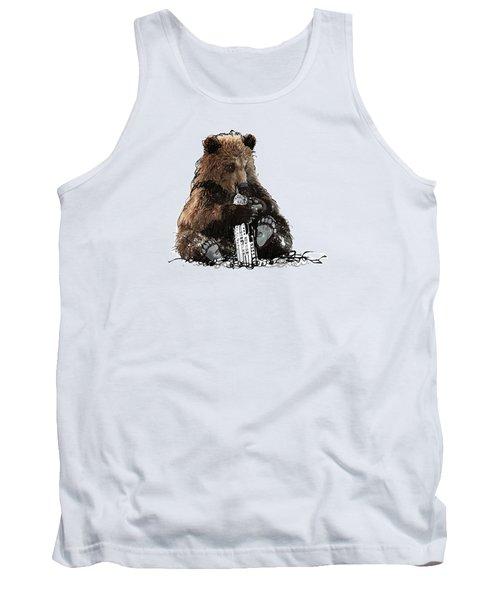 Bear Loves Ny Tank Top by Devlin