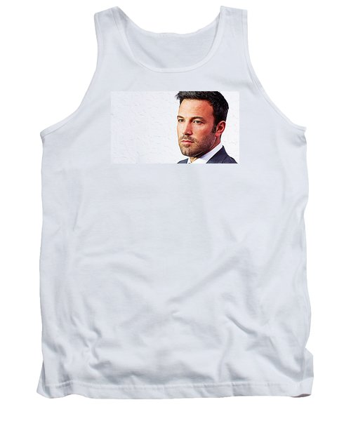 Ben Affleck Tank Top by Iguanna Espinosa