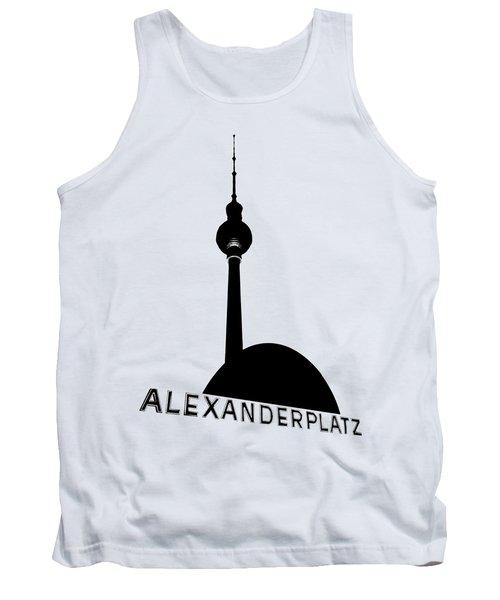 Berlin Alexanderplatz Tank Top by Julie Woodhouse