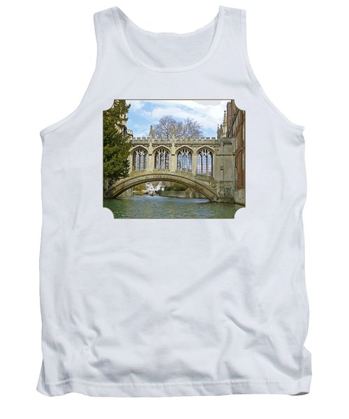 Bridge Of Sighs Cambridge Tank Top by Gill Billington