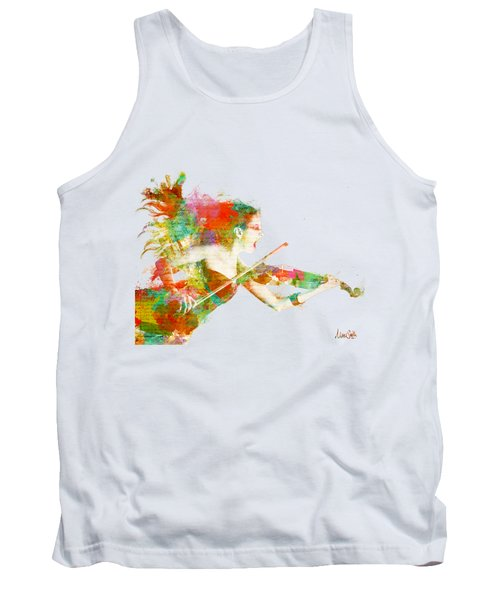 Can You Hear Me Now Tank Top by Nikki Smith
