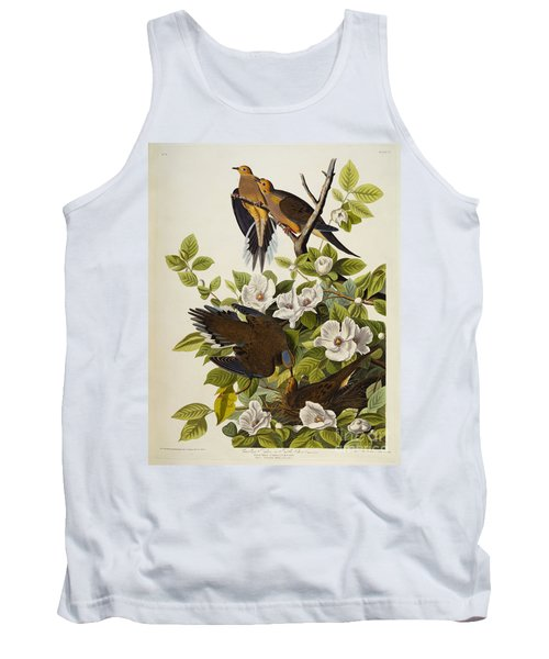 Carolina Turtledove Tank Top by John James Audubon