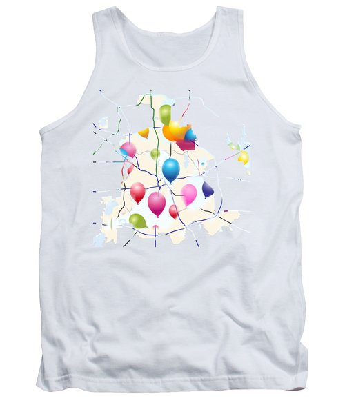 Celebrate ? Tank Top by Jacquie King