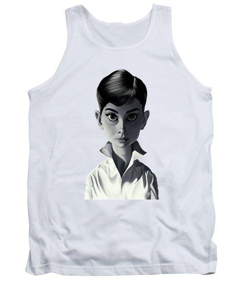 Celebrity Sunday - Audrey Hepburn Tank Top by Rob Snow