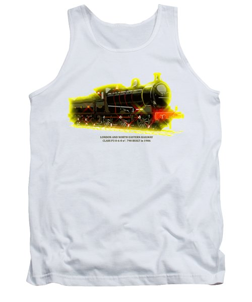 Classic British Steam Locomotive Tank Top by Aapshop