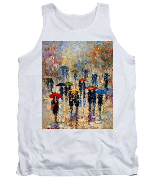 Cloudy Day Tank Top by Andre Dluhos