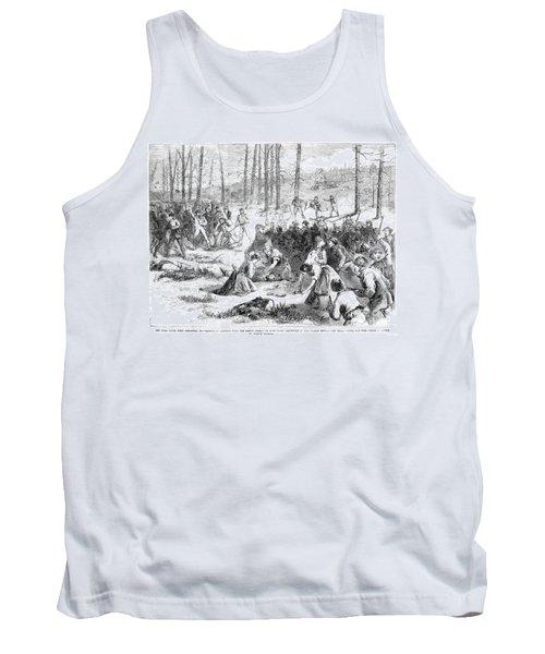 Coal Miner Strike, 1871 Tank Top by Granger