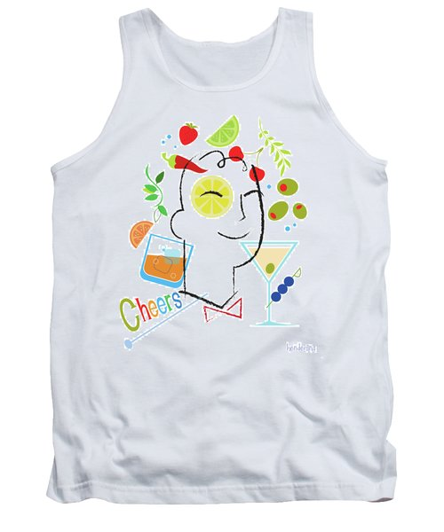 Cocktail Time Tank Top by Lisa Henderling