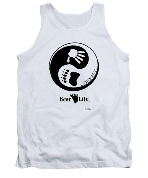 Coexist-yin Yang Bear Life Tank Top by PJ Jackson