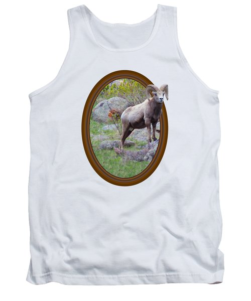 Colorado Bighorn Tank Top by Shane Bechler