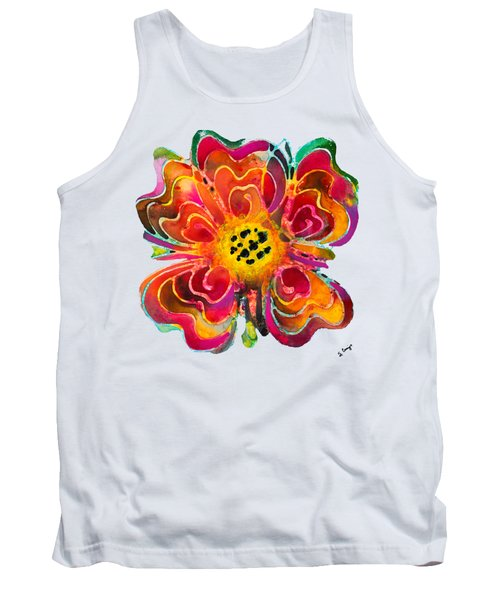 Colorful Flower Art - Summer Love By Sharon Cummings Tank Top by Sharon Cummings
