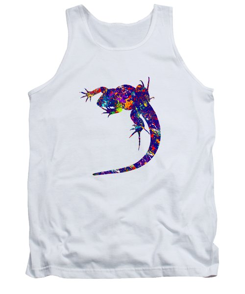 Colourful Lizard -2- Tank Top by Bamalam  Photography