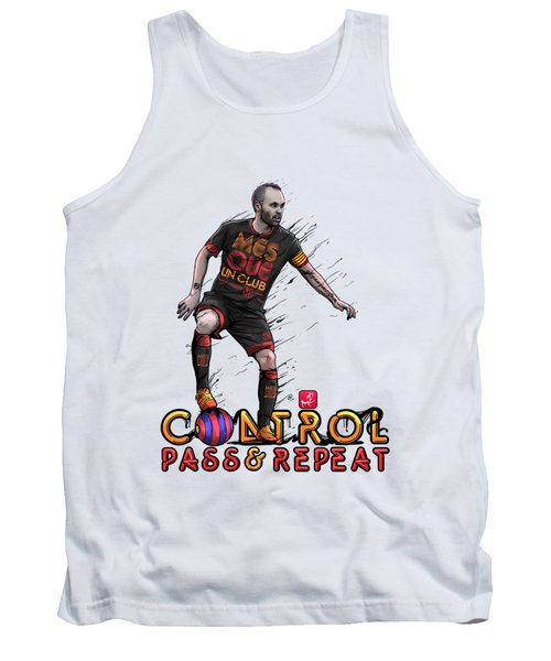 Control Pass And Repeat Tank Top by Akyanyme