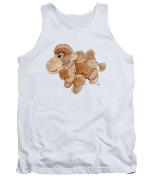 Cuddly Camel Tank Top by Angeles M Pomata