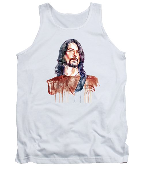 Dave Grohl  Tank Top by Marian Voicu