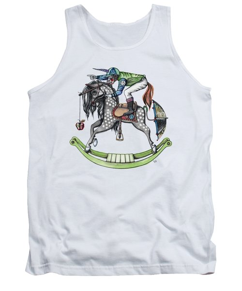 Day At The Races Tank Top by Kelly Jade King