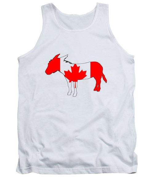 Donkey Canada Tank Top by Mordax Furittus