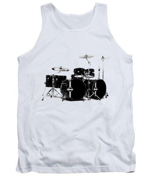 Drum Tank Top by David Balber