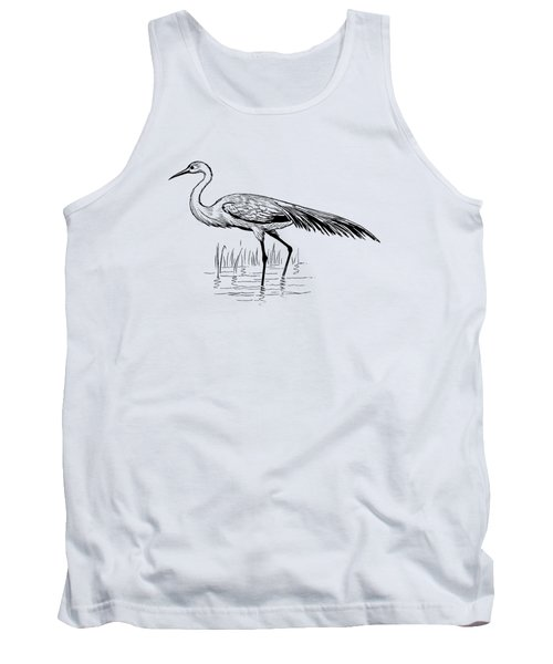 Egret Tank Top by Mordax Furittus