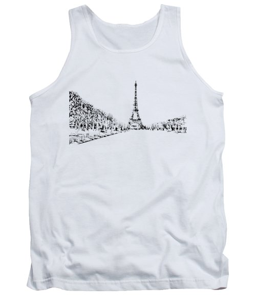 Eiffel Tower Tank Top by ISAW Company