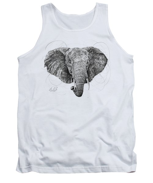 Elephant Tank Top by Michael Volpicelli