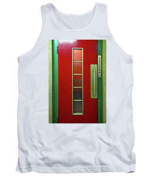 Elevator Door  Tank Top by Ethna Gillespie