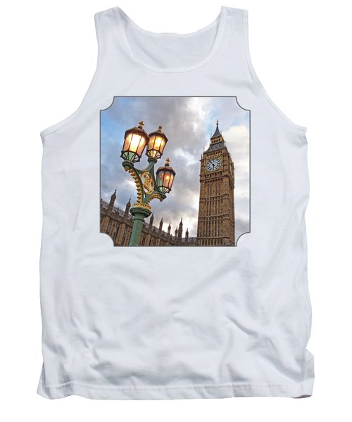 Evening Light At Big Ben Tank Top by Gill Billington