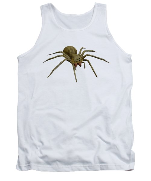 Evil Spider Tank Top by Martin Capek