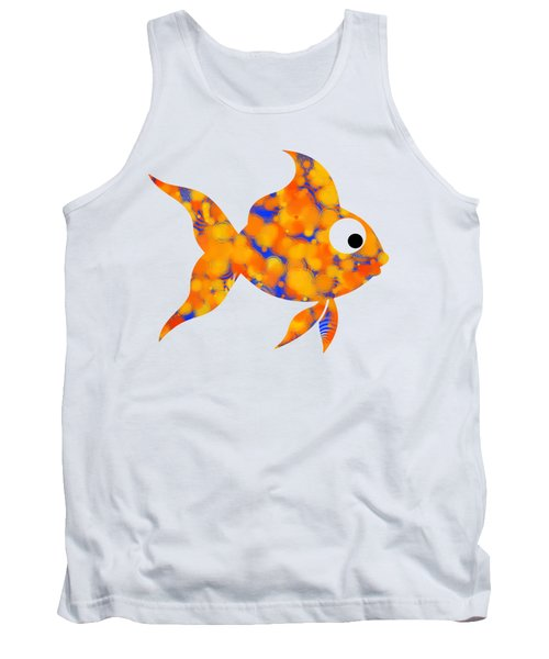 Fancy Goldfish Tank Top by Christina Rollo