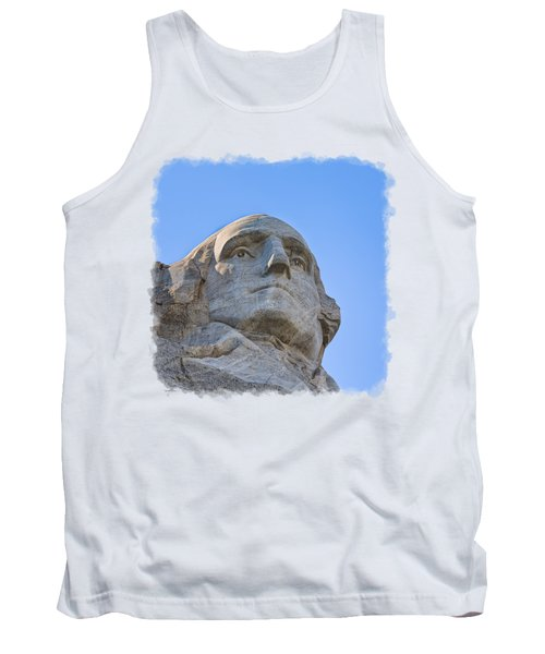 George Washington 3 Tank Top by John M Bailey