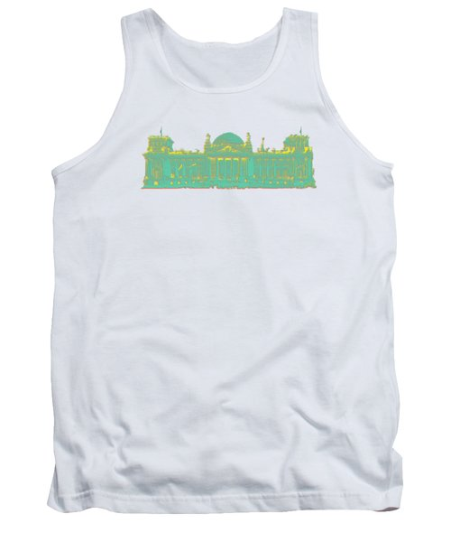 Germany Reichstag Dots Tank Top by Frank Hoven