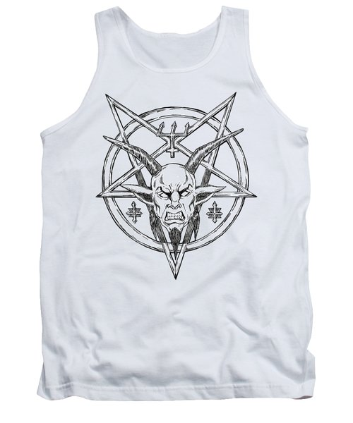 Goatlord Logo Tank Top by Alaric Barca