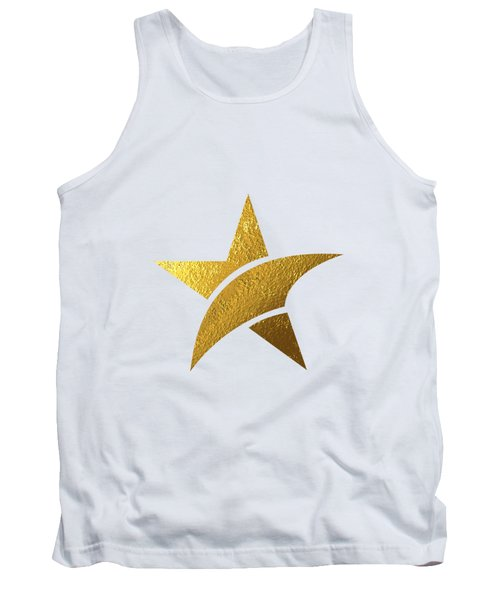 Golden Star Tank Top by Bekare Creative