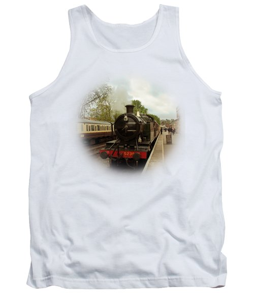 Goliath The Engine And Anna On Transparent Background Tank Top by Terri Waters