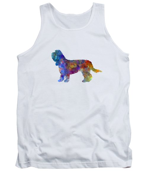 Grand Basset Griffon Vendeen In Watercolor Tank Top by Pablo Romero