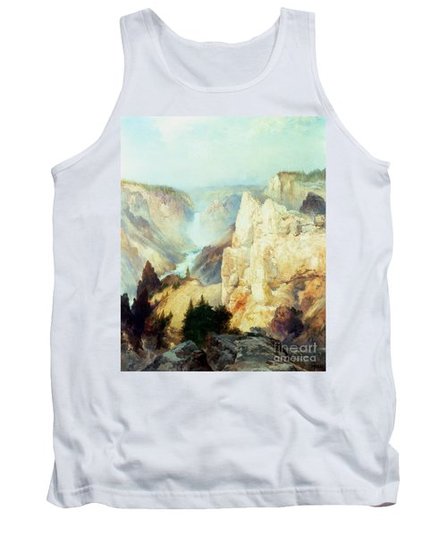 Grand Canyon Of The Yellowstone Park Tank Top by Thomas Moran