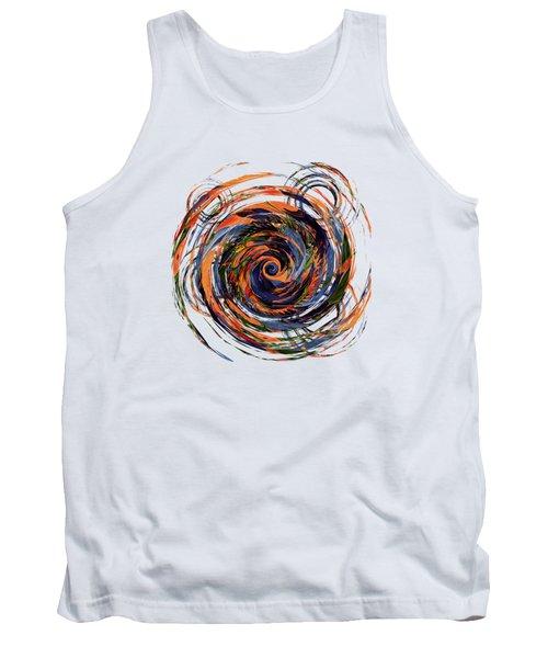 Gravity In Color Tank Top by Deborah Smith