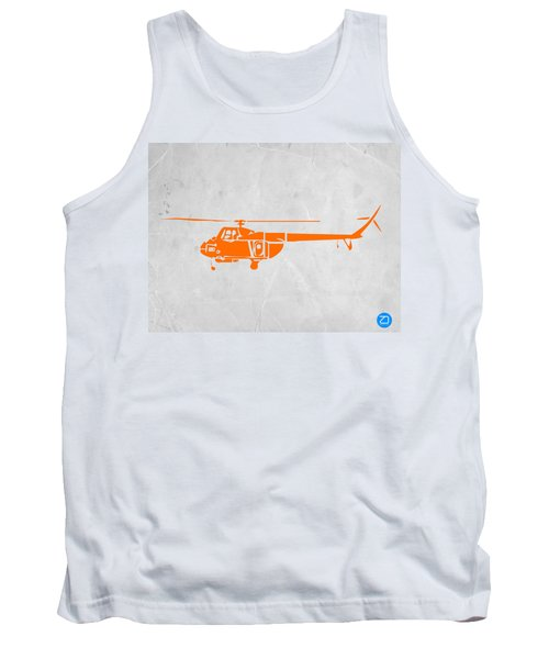 Helicopter Tank Top by Naxart Studio